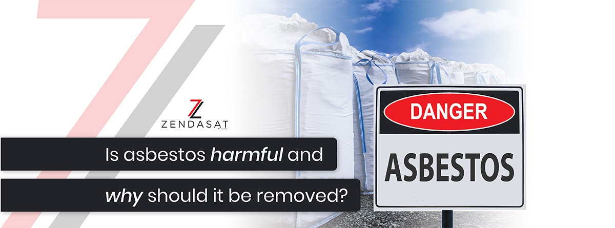 Why asbestos is a harmful mineral and should be removed